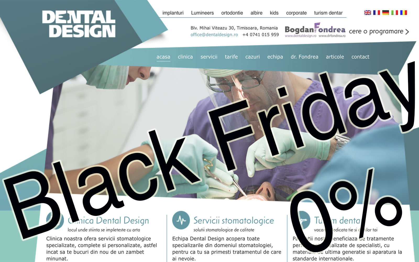 black friday dental design fondrea