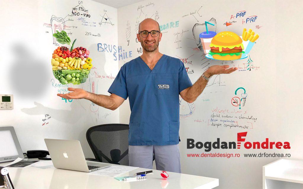 fast food fast dentistry fatete dentare, implanturi dinti, dental design, bogdan fondrea, timisoara