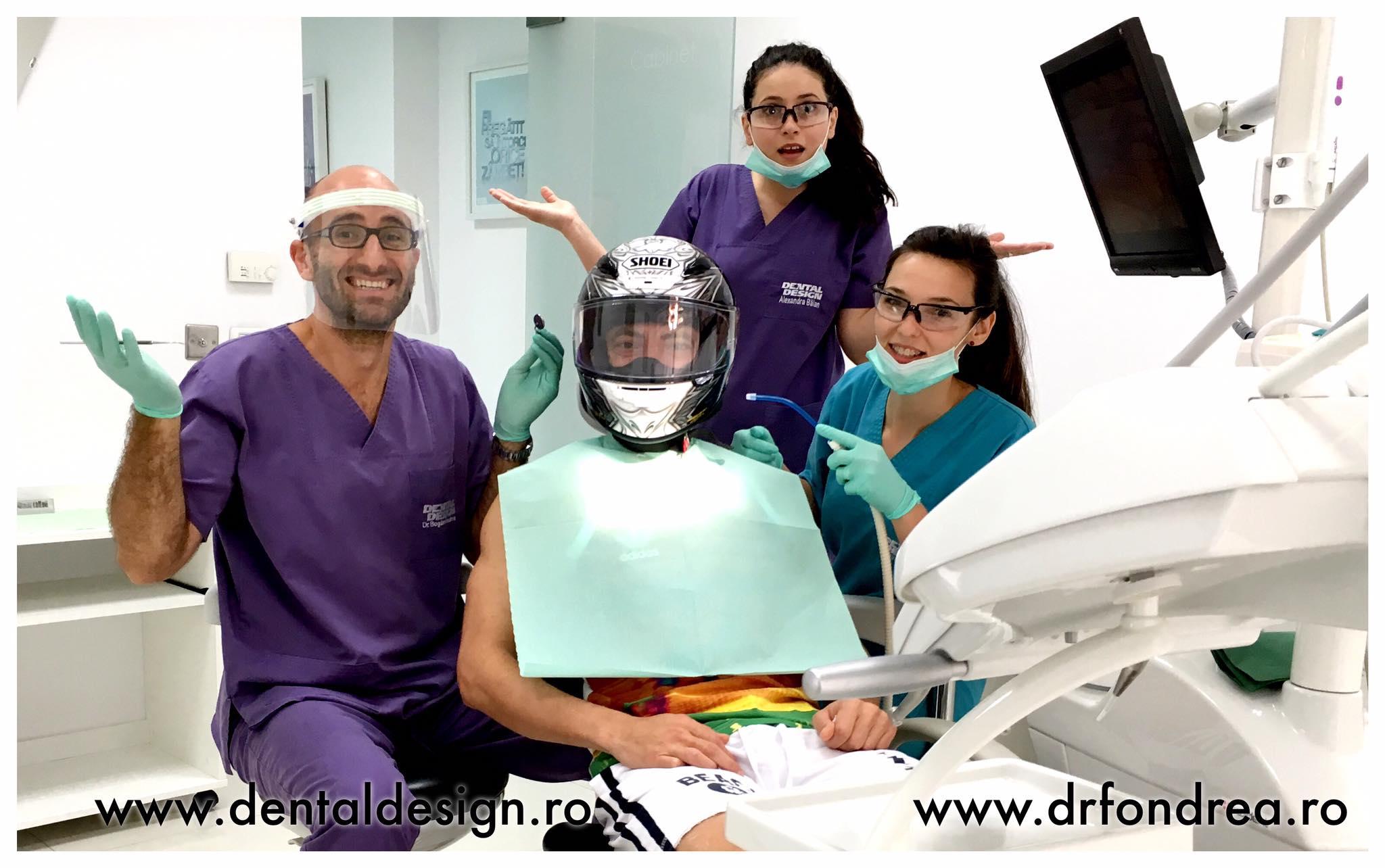 dr bogdan fondrea dental design timisoara